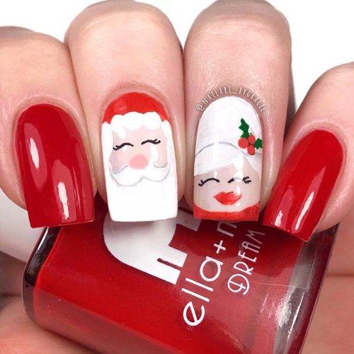 Santa y la Señora Claus