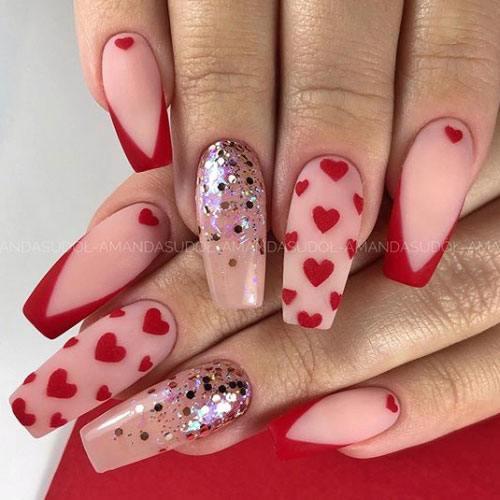 Diseño Corazón Rojo