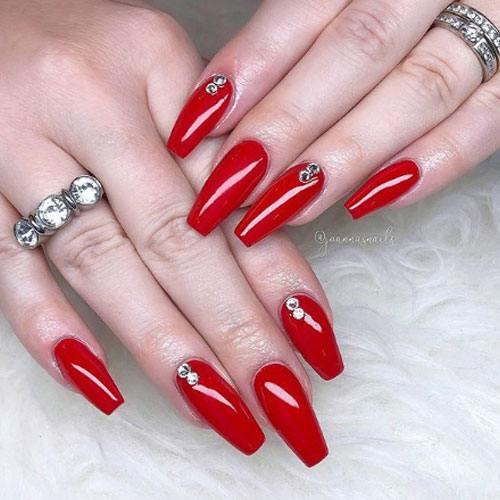 Diseño Rojas Brillante