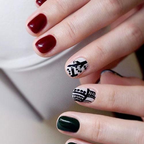 Diseño Rojo y Negro